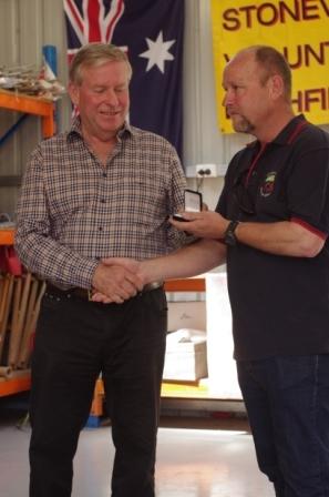Brigade awards presentation - September 2012