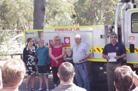 Dedication of the Stoneville 1.4R - September 2012