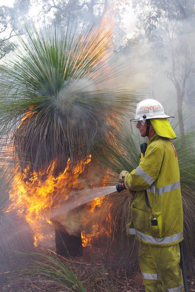 Hazard reduction burn - October 2013