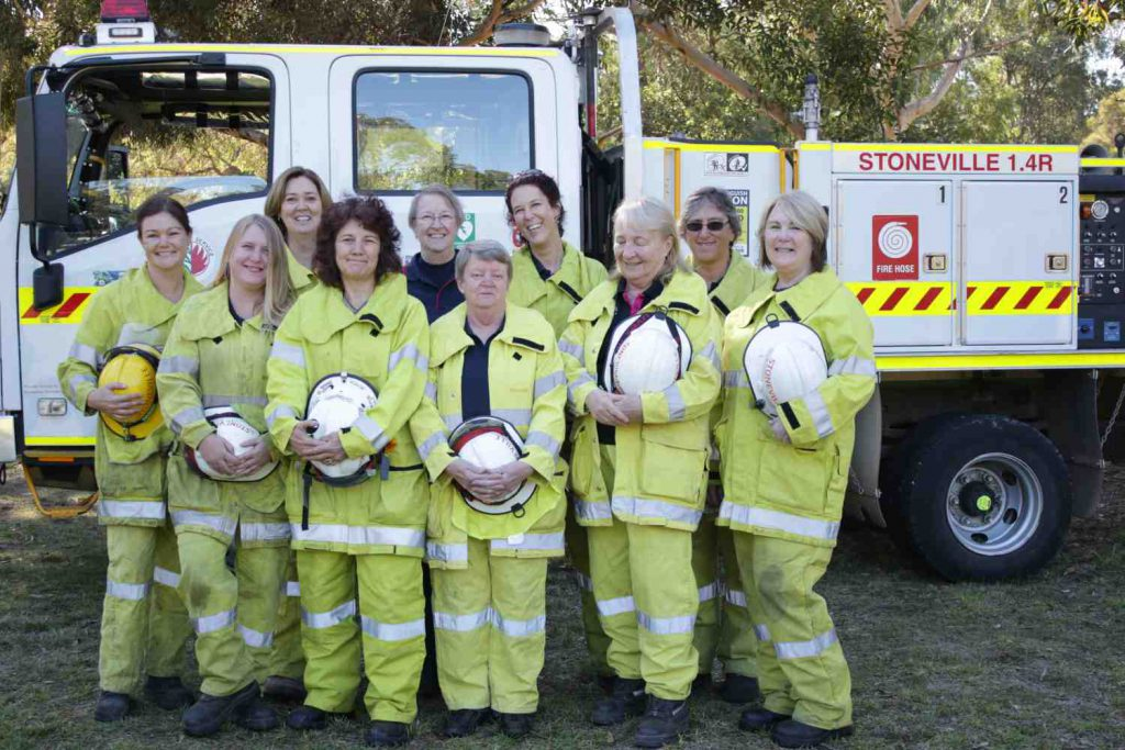 Smiling Girls - L to R - Raquelle, Claire, Shelley, Megan, Jan, Vi, Ofira, Hillary, Denise, Lyn